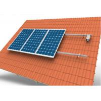 Buy cheap Adjustable Tile Solar Panel Roof Mounting Systems With 10 Years Warranty product