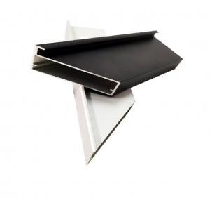Buy cheap Thickness 0.8-1.5mm Aluminium Door Profiles For Furniture Golden / Black Cabinet Door Frame product