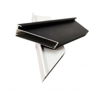 Buy cheap Thickness 0.8-1.5mm Aluminium Door Profiles For Furniture Golden / Black Cabinet from wholesalers