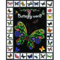 """Buy quality Rili 16""""*20"""" Butterfly Velvet Coloring Poster at wholesale prices"""