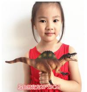 Buy cheap Customized Dinosaur Model Toys L28*W7.5*H13 Plastic Jurassic Park Spinosaurus Toy product