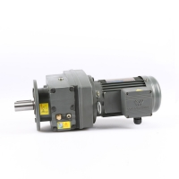 Buy cheap Power 0.12kW Helical Gear Motor product