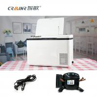 Buy cheap 18L/28L Car Cooler Box Chest Freezer , Tempered Glass Outdoor Car Refrigerator product