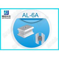 Alloy Parallel Pipe Fitting Aluminum Tubing Joints For Working table , Surface Oxidation AL-6A Manufactures
