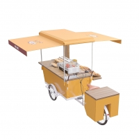 Buy cheap 4800W 25° Climbing Vending Tricycle Mobile Food Cart product