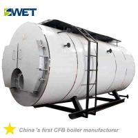 Buy cheap High automation energy conservation 4 ton fire tube Oil steam boiler for rice from wholesalers