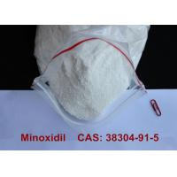 Buy cheap Pharmaceutical Minoxidil Alopexil Powder For Hair Growth / Blood Pressure Treatment CAS 38304-91-5 product