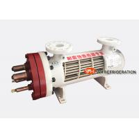 Buy cheap Dry Type Shell Tube Titanium Heat Exchanger For Salt Water With 10HP Capacity product