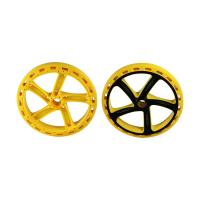 Buy cheap H13 Two Color Multi Material Injection Molding POM Toy Car Wheels 1*2 Cavity product