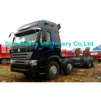Buy quality Sinotruk HOWO 8x4 Heavy Cargo Trucks / Diesel Box Stake Truck , STRONGEST TRACTOR at wholesale prices