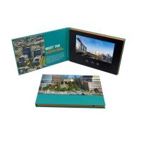 Buy cheap Advertising Promotion Video Brochure Card 7 Inch Lcd Video Book Four Color Printing product