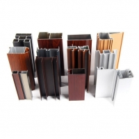 Buy cheap Furniture Decoration Customized Aluminum Wood Frame Profiles Square Tube from wholesalers