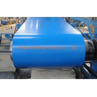 Buy cheap PPGI Color Coated Steel Coil , Hot Dipped Galvanized Steel Coil 0.2-1.2mm Thickness product