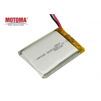 Buy cheap 3.7V 600mah Lithium Battery For IOT Devices High energy density product