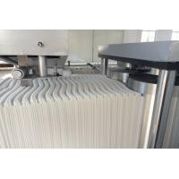 Buy cheap Cutting Non Woven Folding Machine 5kw Length 4.2m Clean Shoes Tables 1000kg product