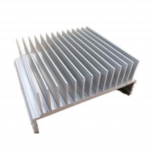 Buy cheap 10.0mm 6061 Aluminum Heatsink Extrusion Profiles For Machine product