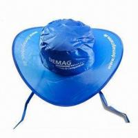 Buy cheap Sun Visor/Promotional Cap with Matching Pouch, Made of Nylon product