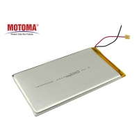 Buy cheap High Capacity High Power Rechargable Battery 3.7V3000mah 4.5*62*107mm Long Cycle Time Wearable Device Battery Pack product