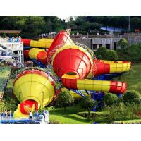 Buy cheap Ashland / DSM Resin Fiberglass Water Slide Tantrum Valley Water Park Rides 16m from wholesalers