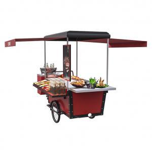 Buy cheap 11.3RPM Mobile Three Wheel Street Hot Dog BBQ Food Bike product