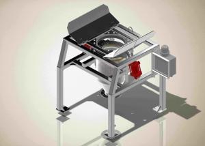 Buy cheap 1000kg Q235 Bulk Bag Unloader With Tubular Chain Conveyor product