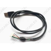 Buy cheap UL2725 USB Extension Cable Black PVC Jacket USB A male Cable With MLX 51004 Connector product
