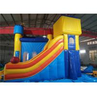 Buy cheap Large Area Commercial Inflatable Jumpers Playground Waterproof Long Durability product