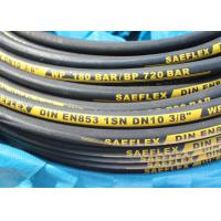 "Buy cheap DIN EN 853 1SN High Pressure Hydraulic Hose DN 10 3/8"" WP 180 BAR 2615 PSI from wholesalers"