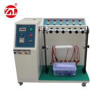 Buy cheap Cable Bending Fatigue Testing Machine , 220V 50hz Automatic Cable Flex Tester product