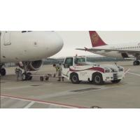 Buy cheap Reliable Airport Tow Tractor Four Wheel Steering , Ground Service Equipment product