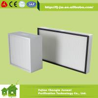 Buy cheap Mini pleat HEPA Filter H13, H14 product