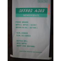 Buy cheap Citric Acid Monohydrate - Food Additive from wholesalers