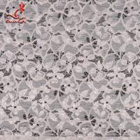 Buy cheap Fashion Swiss Lace Fabric 140cm Width / Embroidered Bridal Lace Fabric product