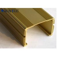 Buy cheap Anodized Aluminum Extrusions For Electronics , With Finished Machining from wholesalers