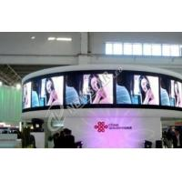 P4mm Indoor Curved LED Display , SMD2121 full color led screen for Shopping Malls