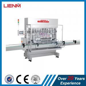 Buy cheap Automatic Liquid Detergent Piston Filling Machine Production Line product