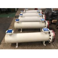 Quality Shell & Tube Water Chiller Heat Exchanger , Shell And Tube Condenser For Cooling for sale