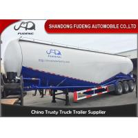 Buy cheap High capacity 3 axle cement tank trailer power trailer for sale product