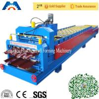 Buy cheap 440V Customized Roof Profile Double Layer Roll Forming Machine For Roof CE product