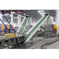 Buy cheap PE Bottle Crushing Plastic Recycling Machine 100 - 500KW Power Stable Working product