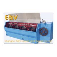 Buy cheap 4 Payer 9 Dies Big Continuous Wire Drawing Machine Frequency Speed Mode product