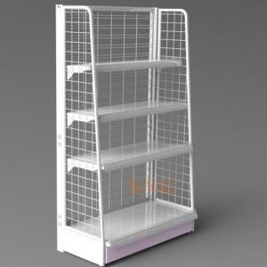 Buy cheap Metal Display Shelf Floor Stand product