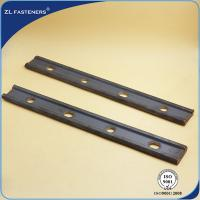 Buy cheap Railway Rail Joint Bar / Fishplates In Railway Tracks Railway Fastens Parts product