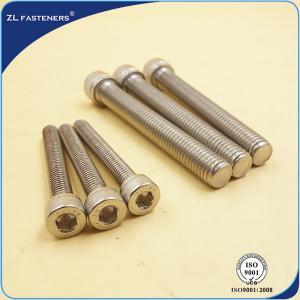 Buy cheap Stainless Steel SS304 Bolts / Allen Bolt Socket Cap Bolt DIN912 product
