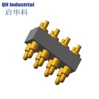 Buy cheap 8Pin United Emirates Mp4 Mp5 Connector spring loaded pin Magnetic Connector Magnetic spring loaded pin Charger product