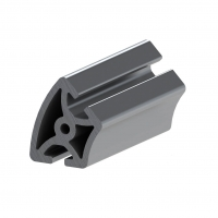 Buy cheap 4040 8mm T Slot Half Extrusions Aluminium Industrial Profile For Assembly Line product