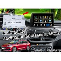 Buy cheap Navigation Android Auto Interface for Focus with Online Map Google Facebood Waze from wholesalers