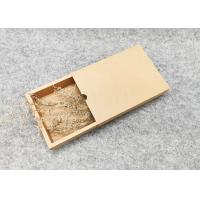 Buy cheap Handmade Drawer Cardboard Gift Boxes  Lightweight FDA  ISO Certification product