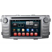 Buy cheap Toyota Hilux GPS Navigation Android DVD Player 3G Wifi SWC BT RDS TV product
