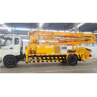 Buy cheap Factory Supply Cummins Engine High Quality 12 months Warranty FOTON  FAW Concrete Pumps Truck product